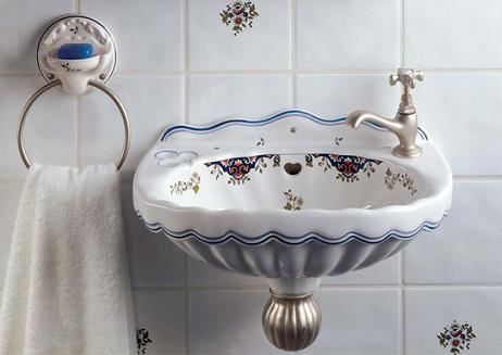 Valse-Vitreous-China-Wall-Hung-Hand-Basin-And-Towel-Ring-From-Herbeau