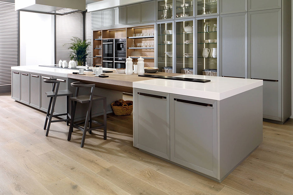 Porcelanosa Tile Kitchen Floor