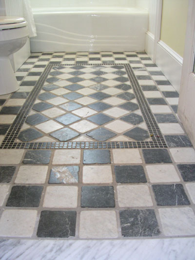 As Every Owner Of A Linoleum Bathroom Floor Knows, You Canu0027t Beat Tile.  Itu0027s Durable, Fairly Painless To Install And Beautiful When Done Right. Part 97