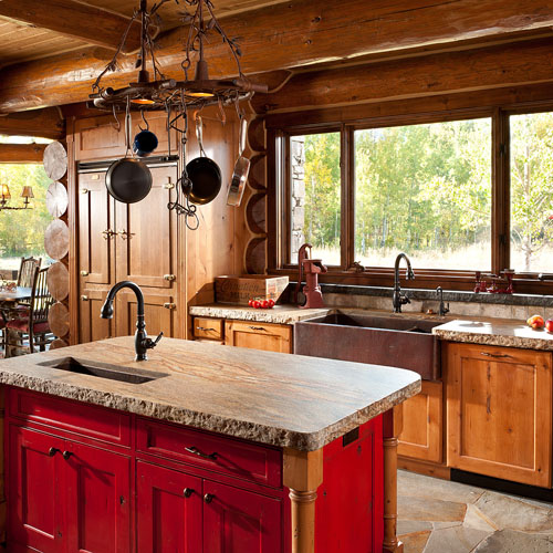 Plumbtile: Native Trails Kitchen