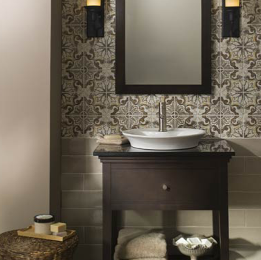 Plumbtile: Jeffrey Court Tile