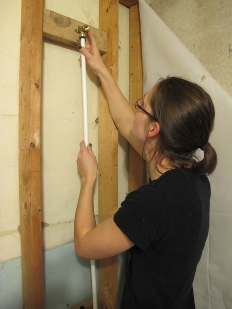 How To Install A Wall Mounted Showerhead How To Amp Diy