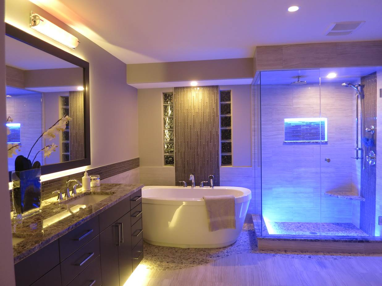 Led lights for bathroom fixtures - Bathroom Lighting To Improvement Your Bathroom