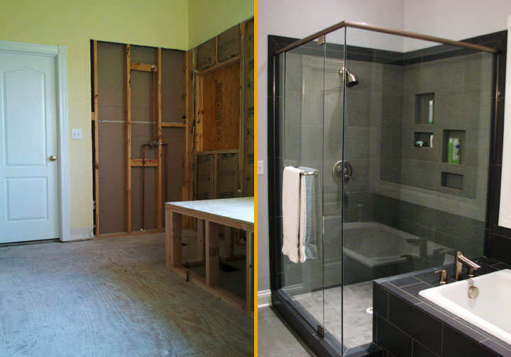 Before And After Bathroom Remodels remodel bathroom before and after bathroom design gallery before