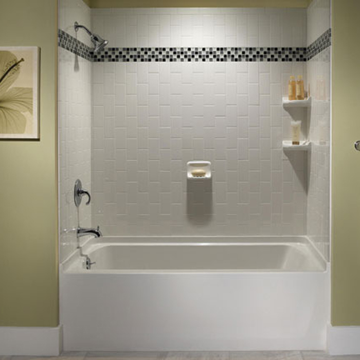 How To Add Style to a Bathroom with Tile Patterns How To DIY Blog