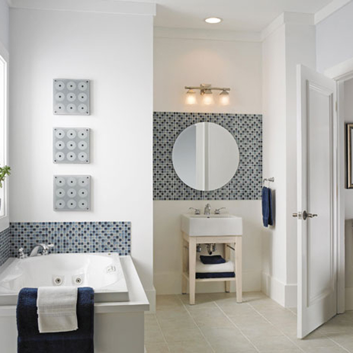 How To Add Style to a Bathroom with Tile Patterns - \'How-To\' & DIY Blog