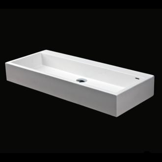 Lacava   Vessel Solid Surface Washbasin With Overflow.