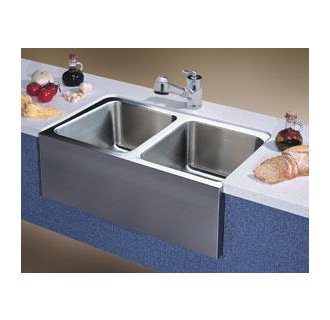 Magnum Specialty Undermount Double Bowl Sink With Apron