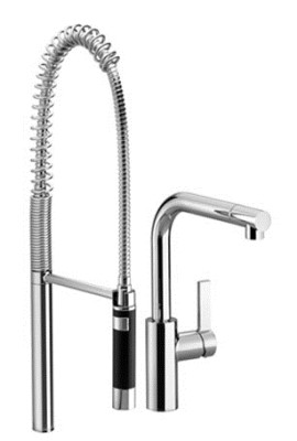 Dornbracht Single Lever Pull Out Spray Kitchen Faucets