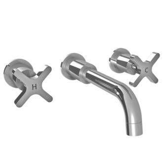 Lefroy Brooks Kafka Cross Handle Wall Mounted Basin Mixer Trim Only Best Pricing Free Shipping
