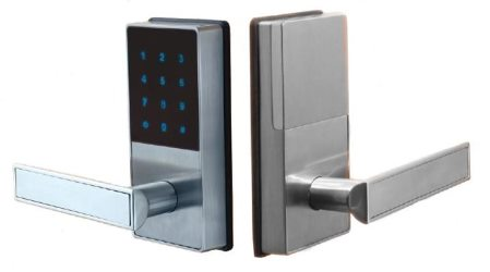 Linnea Smart Lock With Key Pad And Remote Entrance Satin