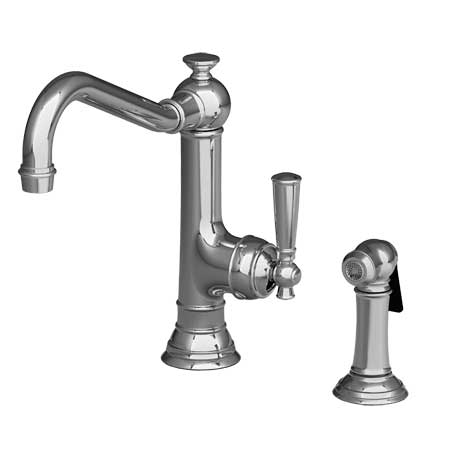 Newport Brass Single Lever Side Spray Kitchen Faucets