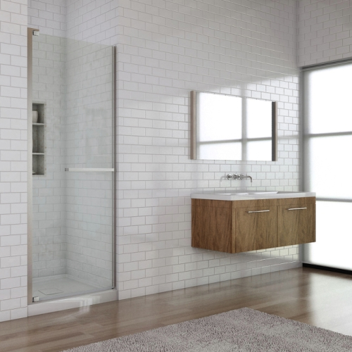 Oceania   California Shower Door With Pivots 1 Side 32 Inch