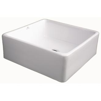 Porcelanosa Xs Ice Ll Vessel Sink Without Overflow White