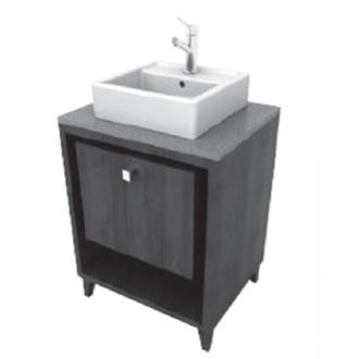 Porcher Solutions 24 Inch Shadowbox Vanity Only