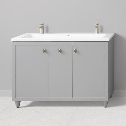 Ronbow 48 Inch Aravo Solutions Vanity With Toe Kick Best Pricing
