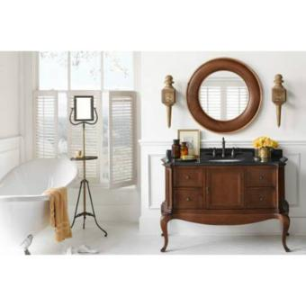 Ronbow Chardonnay 53 Inch Bathroom Vanity Cabinet Base In Colonial Cherry Best Pricing