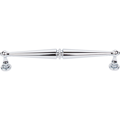 Top Knobs - Edwardian Pull 8 3/4 Inch (c-c) - Polished Chrome